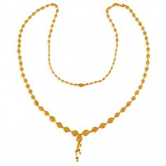 22K Gold Balls Chain(26 Inches) ( 22Kt Long Chains (Ladies) )