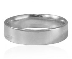 18Kt White Gold Wedding Band ( Wedding Bands )