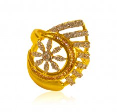22 Kt Gold Ladies Ring ( Ladies Signity Rings )