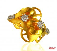 22 kt Gold fancy Indian Ring ( Ladies Signity Rings )