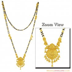 22K Indian Long Mangalsutra ( MangalSutras )