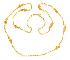 Fancy 22K  Gold Chain (32 Inches) ( 22Kt Long Chains (Ladies) )