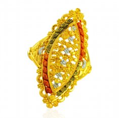 22 Karat Gold Ladies Ring  ( Ladies Gold Ring )
