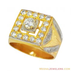Exclusive Designer 18K Diamond Ring ( Diamond Rings )