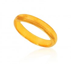 22 Kt Yellow Gold Wedding Band