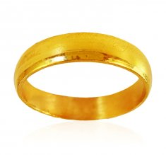 22K Gold Plain Wedding Band  ( Wedding Bands )
