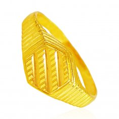 22Kt Gold Ring For Mens ( Mens Gold Ring )