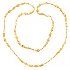 22k (27 in) Gold Balls Long Chain ( 22Kt Long Chains (Ladies) )