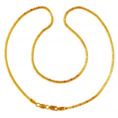 22K Plain Gold Chain  ( Plain Gold Chains )