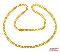 22 kt Yellow Gold Chain (20 Inch)