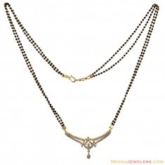18K Gold Fancy Diamond Mangalsutra  ( Diamond MangalSutras )