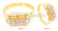 18 Kt Yellow Gold Diamond Ring ( Diamond Rings )