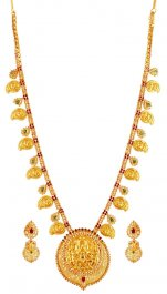 22K Gold Mango Maala Set ( Gold Designer Sets )
