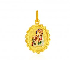 Swami Narayan Jee 22K Pendant ( Ganesh, Laxmi and other God Pendants )