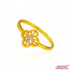 22kt Gold Baby Ring for kids