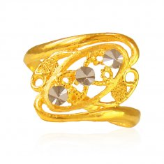 22 Kt Gold Ladies Ring  ( Ladies Gold Ring )