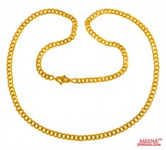 22 kt Yellow Gold Long Chain
