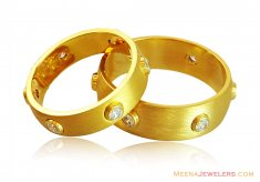 22k His And Hers Wedding Bands ( Wedding Bands )
