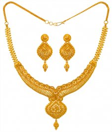 22KT Yellow Gold Set