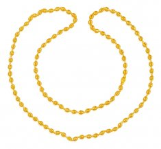 22K Gold  Long Chain(25 Inches) ( 22Kt Long Chains (Ladies) )
