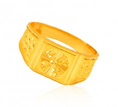 22 Karat Gold Ring For Mens ( Mens Gold Ring )