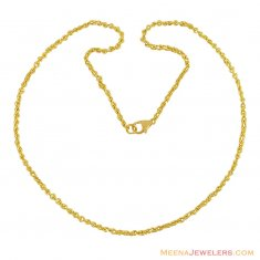 18 Gold Mens Link Chain