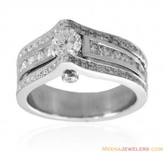 Exclusive 18k Gold Engagement Ring ( Diamond Rings )
