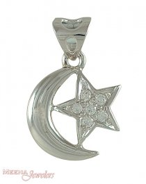 Star Crescent pendant