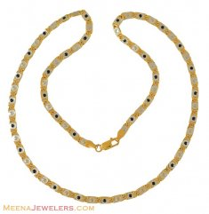 22K Gold Fancy Chain ( 22Kt Long Chains (Ladies) )