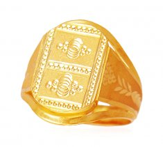 22k Gold Exquisite Ring ( Mens Gold Ring )