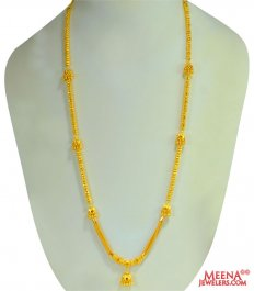 Ladies Beads with Jhumki Chain ( 22Kt Long Chains (Ladies) )