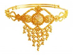22K Gold Traditional Vanki ( Gold Armlet (Baju Bandh) )