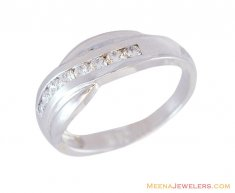 18K Mens Fancy Diamond Ring ( Diamond Rings )