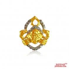 22 Kt Fancy Lord Krishna Pendant  ( Ganesh, Laxmi and other God Pendants )