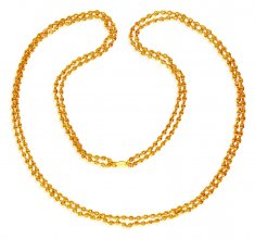 22K Layered Chain(24 Inches) ( 22Kt Long Chains (Ladies) )