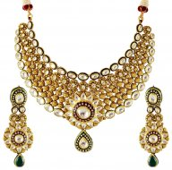 22K Gold Exquisite Antique Set