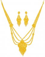 22KT Gold Light Necklace Set
